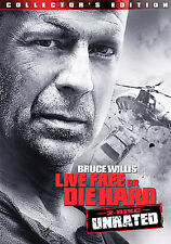 Die Hard 4: Live Free or Die Hard (DVD, 2007, 2-Disc Set, Unrated) New.