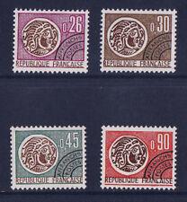 timbre France préoblitéré  monnaies   n° 130/33  **
