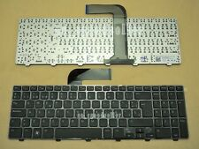 New For DELL NEW Inspiron 15R N5110 Keyboard Español Spanish Teclado Black Frame