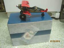 1998 Hallmark Kiddie Car Classics red Biplane Spirit of Christmas Mib #1