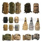 Outdoor Military Army Tactical Rucksack Backpack Hiking Camping Shoulder Leg Bag
