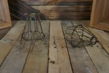 Edison Age light  Vintage Bulb Cages, Pendant Cage,Steampunk light wire cages