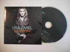 LISA BAREL : BALIVERNES ♦ CD SINGLE PORT GRATUIT ♦