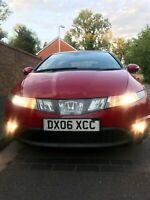 Honda Civic 2006 Automatic Red