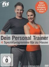 MICHAELA HOLLE - DVD- DEIN PERSONAL TRAINER- 4 Spezialprogramme für zu Hause NEU