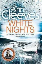 White Nights by Ann Cleeves, Book, New Paperback