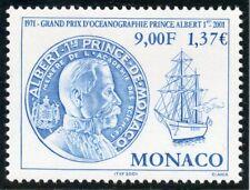 TIMBRE DE MONACO N° 2307 ** GRAND PRIX D'OCEANOGRAPHIE / PRINCE ALBERT 1°
