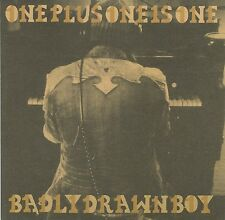 "BADLY DRAWN BOY ~ ONE PLUS ONE IS ONE ~ 2004 UK 14-TRACK ""PROMO"" CD ALBUM"