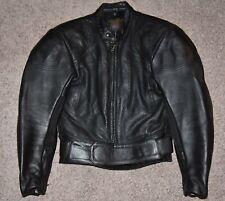 Vanson Leathers Motorcycle Jacket MK2 Cobra Perforated Black Women 8