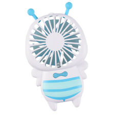 Rechargeable LED Fan Handheld Personal Fan Long Battery Standby Time_Blue