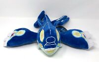 "2014 Pokemon Center Legendary Primal Form KYOGRE 18"" plush stuffed toy Authentic"