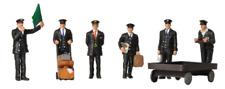 Scenecraft 379-317 Station Staff 1940s- 1950s N Scale