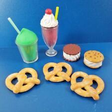 Our Generation Sweet Stop Ice Cream Truck PRETZELS & SANDWICH LOT American Girl