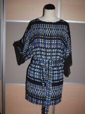 BCBGMAXAZRIA MAX AZRIA, Luxus Kleid mit XXL-Flügelarmen, Gr. 34, NEU, HERBST