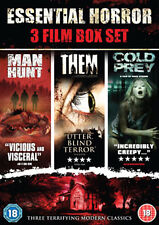 DVD:THE ESSENTIAL HORROR BOXSET - NEW Region 2 UK
