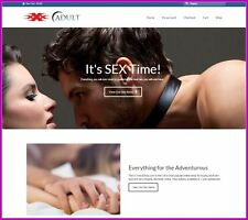 ADULT EROTICA Website Earn £215.28 A SALE|FREE Domain|FREE Hosting|FREE Traffic