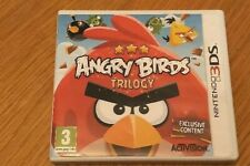 ANGRY BIRDS TRILOGY - 3DS - GOOD USED CONDITION