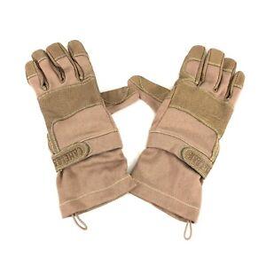 Camelbak Max Grip NT Gloves, Flame Resistant Tan FR Nomex Military Style MEDIUM
