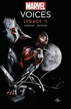 Pre Order MARVEL VOICES LEGACY #1 GABRIELE DELL'OTTO TRADE DRESS SLHLA EXCLUSIVE