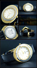 Beautiful & Nice Cavadini Unisex Watch IP Gold Plated Series Edessa