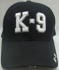 EMBROIDERED BASEBALL CAP MILITARY/ POLICE K-9 CORPS ADJUSTABLE SIZE EUC