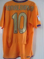 Barcelona Ronaldinho 10 2006-2007 Away Camiseta de fútbol Tamaño Mediano/39042
