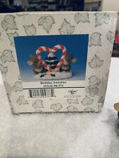 New listing Charming Tails Christmas Holiday Sweeties Peppermint Heart Tree 98-271 Mib