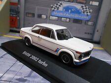 BMW 2002 E21 Turbo 1973 weiss white S-Preis Maxichamps Minichamps PMA 1:43
