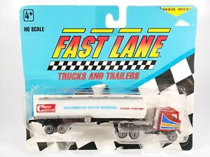 1991 Fast Lane Mack Cabover Tractor Trailer Semi Chem Control Tanker NEW 1:87