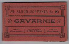 DÉPLIANT TOURISTIQUE TOURISME SOUVENIR Album de Gavarnie Cartes postales CP