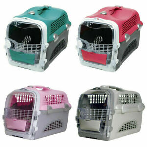 Catit Cabrio Cat & Small Dog Carrier Transporter Portable Pet System 5 Colours