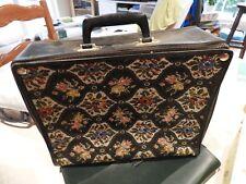 valise vintage / tissu/ souple