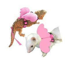 Bearded Dragon Leash and Harness -Soft Angel Wings- Ferret Harness for Bearde.