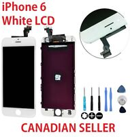 New Replacement White LCD Screen + Touch Digitizer Assembly for iPhone 6 6g 6 g