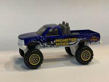 Matchbox Monster Week Chevy K 1500 Blue LOOSE diecast Monster Jam Truck
