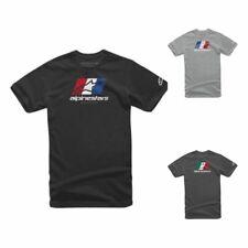 Alpinestars World Tour Mens Casual Half Sleeved Soild Cotton Classic T-Shirts