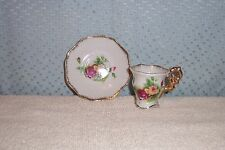 VINTAGE MINATURE ENESCO ROSE CUP & SAUCER made in Japan