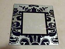 Vintage Mirror Glass Frame Small Size Black