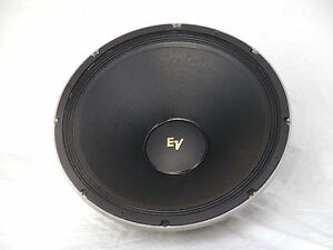 Lautsprecher Electro Voice EVM15B gold Logo stiffed