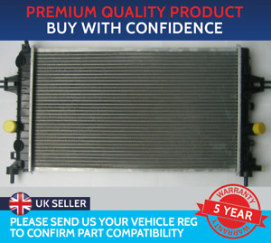 RADIATOR TO FIT VAUXHALL ASTRA H MK5 ZAFIRA B MK2 1.6 1.8 TWINPORT CNG MANUAL