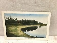 Somersworth & Dover NH New Hampshire, Central Park, early postcard  1911