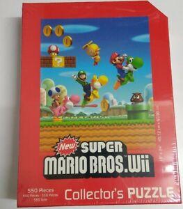 Super Mario Bros Wii Puzzle
