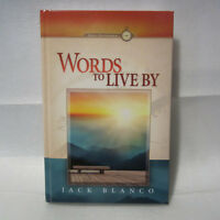 Words to Live By 2018 Adult Morning Devotional by Jack J Blanco - Brand New