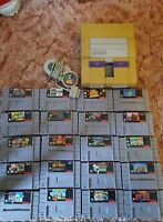 SNES game lot rare titles 🔥 Mario games warios woods and kirby dreamland