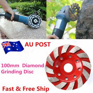 100MM Diamond Grinding Concrete Cup Wheel Disc Segment Masonry Granite Stone