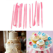 Fondant Cake Decorating Pen Sugarcraft Paste Flower Modelling Sculpting Tools