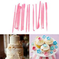 Fondant Cake Decorating Pen Sugarcraft Paste Set Tools Cake Embosser Cutters
