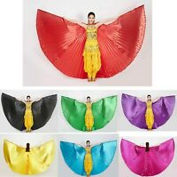 Woman Belly Dance Costume Isis Wings Props Dance Accessories Egyptian Wings