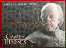 GAME OF THRONES - ROGER ASHTON-GRIFFITHS, Mace Tyrell - AUTOGRAPH Card - 2016