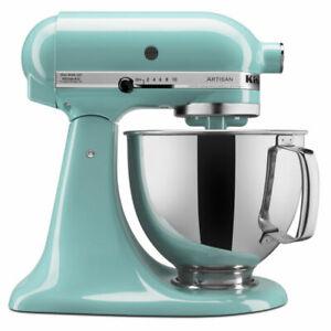 KitchenAid KSM150PSAQ Artisan 5qt Tilt-Head Stand Mixer - Aqua Sky